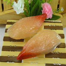 High quality plastic fake sushi toys/Yiwu sanqi craft factory