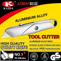 Aluminium Alloy 3pcs extra blades carepet cutter tool knife