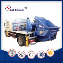 CE Diesel Truck-mounted Concrete Line Pump