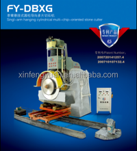 FY-DBXG Hydraulic block cutter/multiblade quarry stone block cutting machine