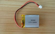 803040 3.7v 900mah 1000mah rechargeable polymer li-ion battery