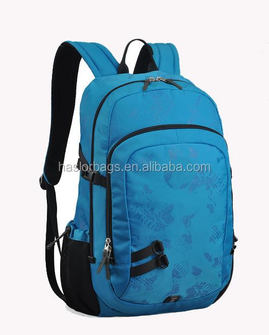 Haute capacité durable école sacs à dos avec matériau imperméable