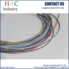 type K/J/E/N/T/R/S/B fiberglass/silicone/telfon/PVC thermocouple compensation/extension cable/wire