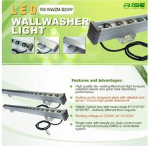 Outdoor building illumination high power ip65 rgb outdoor led wall washer light for bridge decoration