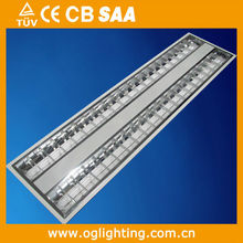 High quality T5 embedded louver light fitting