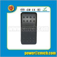 CAR/BOAT/NAUTICAL/MARINE LED Sealed rocker switch 12V 24V IP68 push button rocker switch
