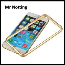 luxury design aluminium double color bumpers for iphone 6 6 plus