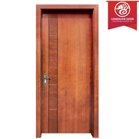 High Pressure Decorative Laminate Flush Doors, Single Swing Inner Room Doors