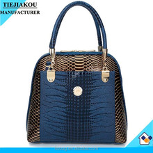Ladies New Luxury Bag Snake Skin Pattern