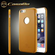 2015 world thinnest CaseMe luxury style mobile phone case for iphone 6, leather back cover case