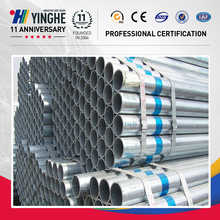 bs 1387 pre galvanized square seamless steel pipe factory