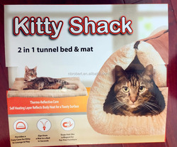 2 in 1 Portable cat mat and cat bed