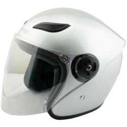 Open Face Cruiser Motorcycle Helmet with Face Shield