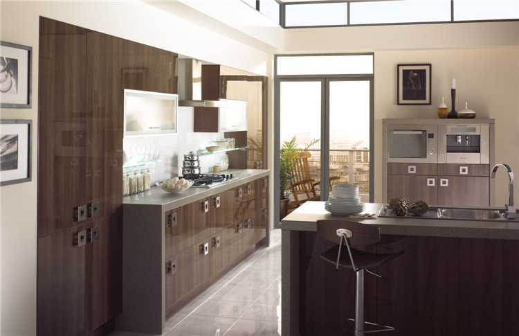 High Gloss Kitchen Cabinets Color Combination Cabinet: Modular Laminate /mdf Kitchen Cabinet Color Combinations
