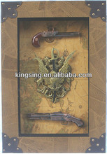 folk art crafts gun