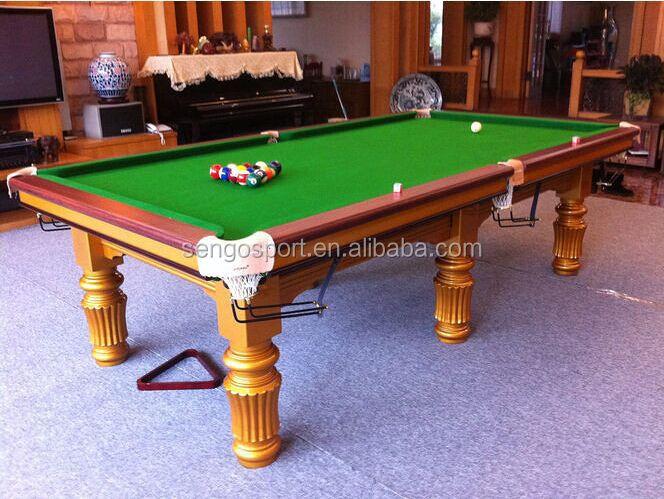 2015 a melhor venda de madeira sólida Goden jogos de associação do bilhar snooker de alta qualidade