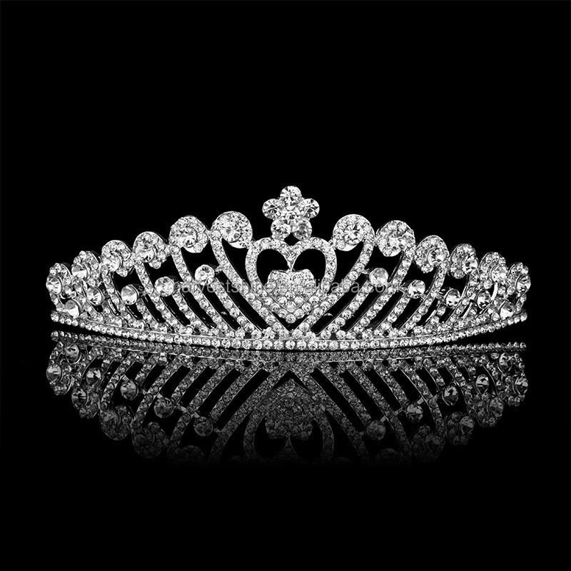 erwachsene krone und tiara prinzessin strass crown f r. Black Bedroom Furniture Sets. Home Design Ideas