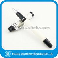 High end luxury business gift Metal milky gel pen