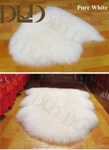 mongolian tibet lamb fur rug in high quality and cheap price