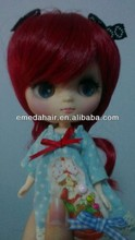 China fashional curly doll wig wholesale