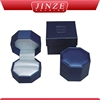 Wholesale Exquisite Delicate wooden wedding double ring boxes