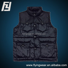 Custom Winter Mens Windproof Waistcoat ,Vest Stock Outwear Outdoor