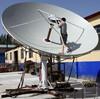 TX/RX 4.5m satellite dish/tv/wifi/vsat antenna & receiver