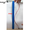 Long and slim lipo rechargeable 12v lithium battery tube 8 emergency module lighting LED tube rechargeable battery pack