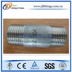 DIN 2982 STANDARD Barrel Nipples/Strait Tapped Merchant Steel Couplings