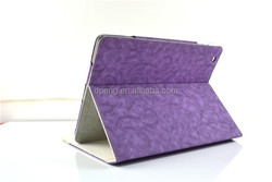 2015 fashion design custom genuine leather colorful tablet case for ipad mini 2