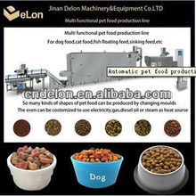 Full automatic machine for manufacturing dog/cat/fish/bird food