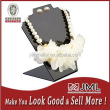 Eco-friendly black angled/slant Acrylic Necklaces or Earrings display stand