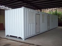 Containerized bed room