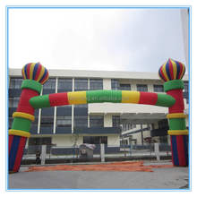 Hot sale inflatable arch, inflatable finish line for events yard inflatables