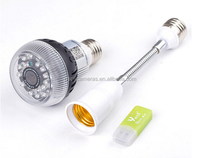 1080p HD Wifi IP light bulb camera,HD video light bulb,spy light bulb