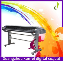 High speed high quality vinyl sticker kuco th1300L cutter plotter with contour out 500G knife press
