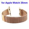 Stainless Steel Magnetic Closure Clasp Bracelet Metal Smart Watch Band Strap For Apple Watch iWatch With Metal Adapter Clasp