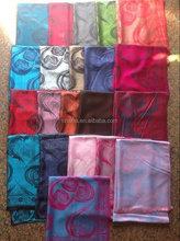 New jacquard cashmere tassel scarf women pashmina