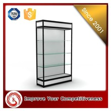 Toy glass display cases, wholesale High quality glass toy car display cases