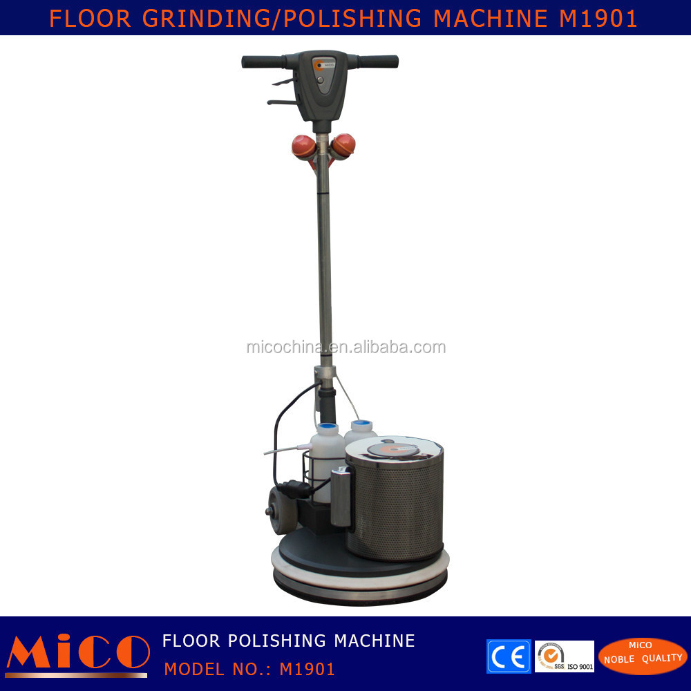 how to marble floors by machine