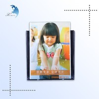Home Decorative Desktop Photo Collect Black Backboard Transparent Acrylic Display Box