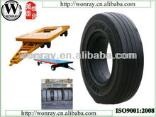 excellent 3.20-8 used solid tires for tractor trailer in airport