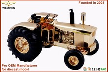 antique scale diecast tractor model