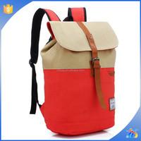 New Canvas Backpack Bag Rucksack School Bag Military Travel Camping Hiking