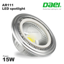 88Lm/W 1320Lm G53 led spotlight ar111 Dimmable RGB LED 15W ar111 cob spot