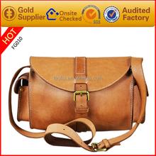 2015 new style fashion customized single shoulder bag men leather camera bag