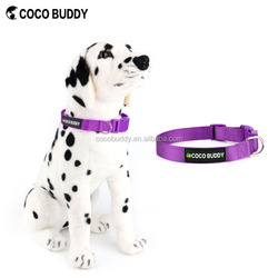 2016 best selling dog products waterproof dog collar leash metal clips 100% Nylon material
