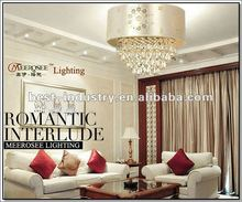 2012 Cheap Crystal celling light/lamp in luxurious sense