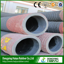 Factory price synthetic or EPDM corrugated surface steel wire reinforced rubber suction hose