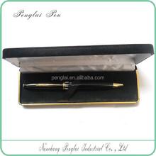 Custom luxury printing gift boxes velvet cardboard customized card board pen boxes packing